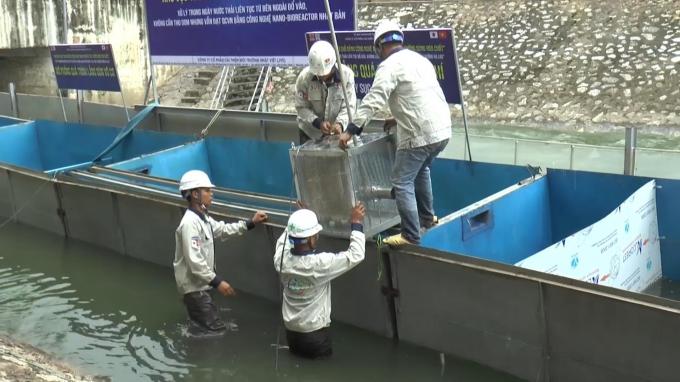 Công ty Nhật Bản đã từ bỏ vụ xử lý ô nhiễm sông Tô Lịch?