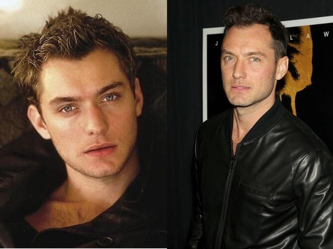 Jude Law hồi trẻ.