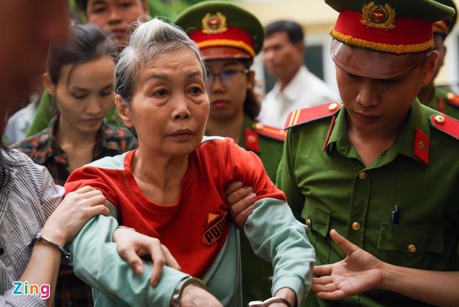 Bị cáo Trịnh Thị Hồng Hoa.