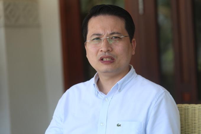 Ông Phan Tuấn Hùng, Vụ trưởng Pháp chế Bộ Tài nguyên và Môi trường. Ảnh: Gia Chính