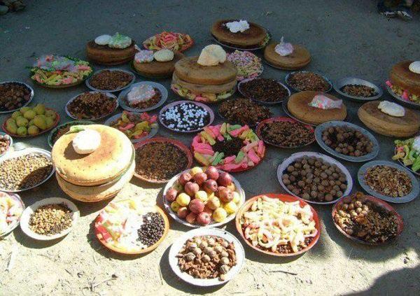 Bữa ăn thanh đạm của người Huzas.