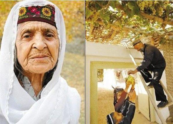 Hơn 100 tuổi, nhiều người Hunzas vẫn lao động say mê mỗi ngày.