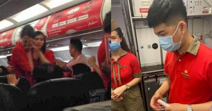Cấm bay 1 năm đối với nữ hành khách ném điện thoại vào tiếp viên