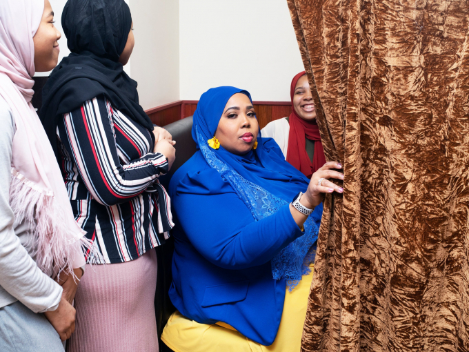 Maghrib Shahid, nhà sáng lập chương trình Hoa hậu Hồi giáo Mỹ.