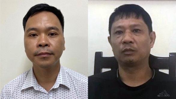 Bùi Quốc Việt (phải) và Võ Việt Hùng - Ảnh: Công an cung cấp