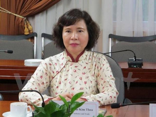 Bị can Hồ Thị Kim Thoa bị truy nã. Ảnh: TTXVN.