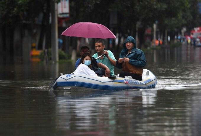 Trung Quốc cảnh báo lũ mức cao nhất
