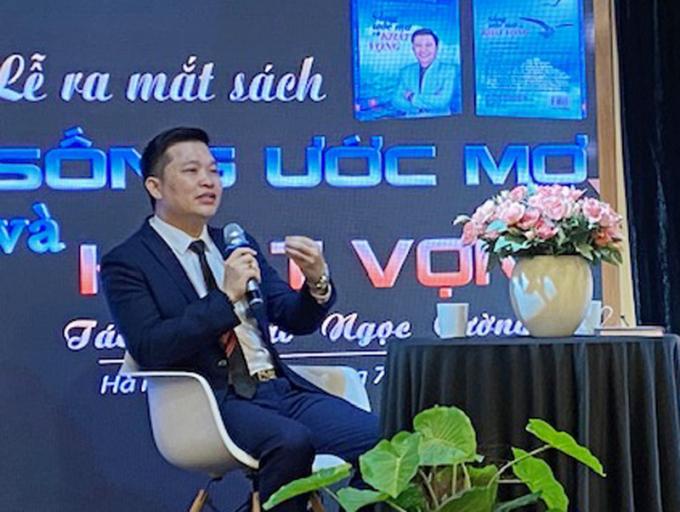 Diễn giả Đào Ngọc Cường chia sẻ với độc giả về cuốn sách.