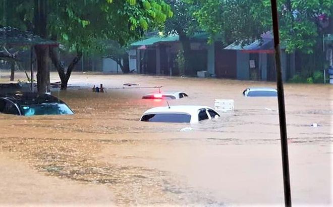 Mưa lũ gây thiệt hại nghiêm trọng tại Hà Giang.