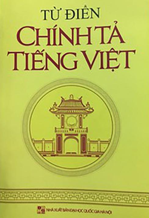 Cuốn từ điển tiếng Việt sai 160 lỗi chính tả. Ảnh: Sài Gòn Giải Phóng.