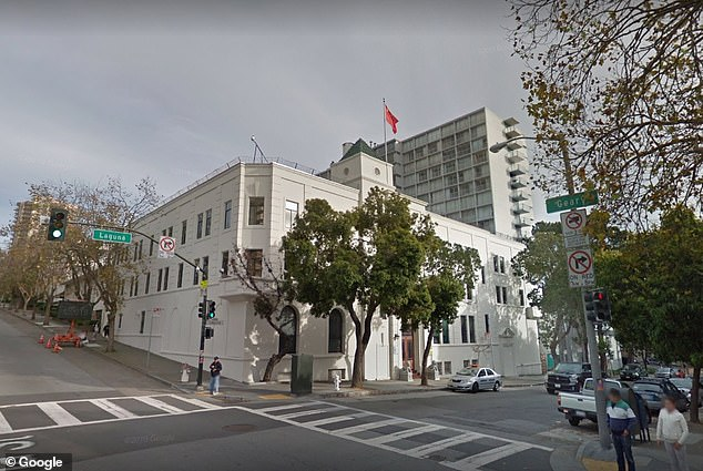 Một nhà khoa học thứ tư được cho là đang ẩn náu tại lãnh sự quán Trung Quốc ở San Francisco.
