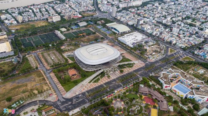 Đà Nẵng xây dựng bệnh viện dã chiến tại Cung thể thao Tiên Sơn 94.000 m2