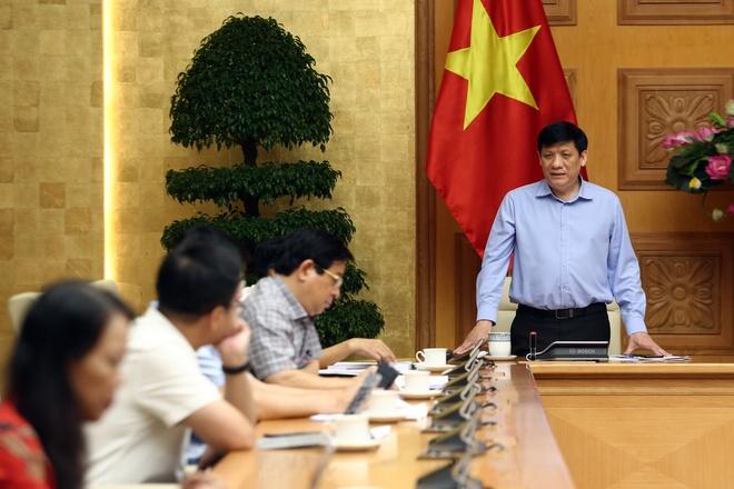 GS.TS Nguyễn Thanh Long, quyền Bộ trưởng Y tế.