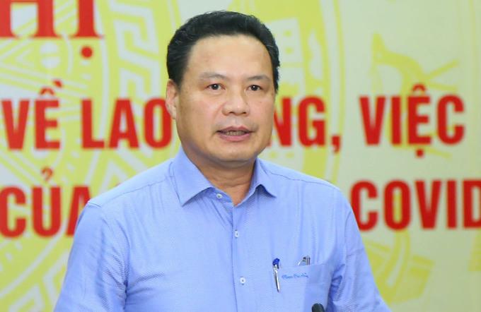 Thứ trưởng Lao động, Thương binh và Xã hội Lê Văn Thanh. Ảnh: T.V.G