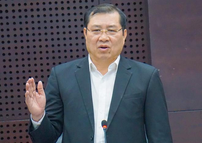 Chủ tịch Đà Nẵng Huỳnh Đức Thơ. Ảnh: Nguyên Vũ.