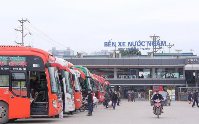 Bến xe Nước Ngầm: Danh sách nhà xe gửi không có tên bệnh nhân 620