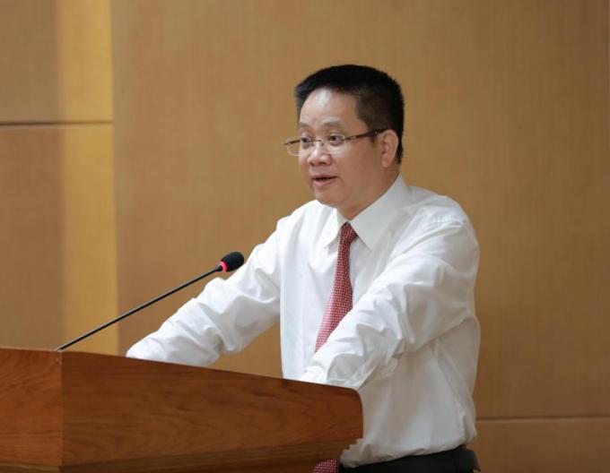 Ông Nguyễn Việt Hùng - Phó Chánh văn phòng Bộ Giáo dục và Đào tạo