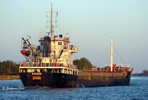 Tàu Rhosus đã đưa 2.750 tấn ammonium nirate tới Beirut. Ảnh: Vesseltracker.