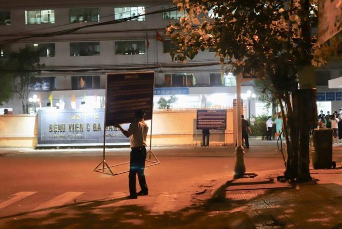 Bệnh viện C Đà Nẵng chính thức được dỡ bỏ cách ly sau 14 ngày. Ảnh: Hữu Long