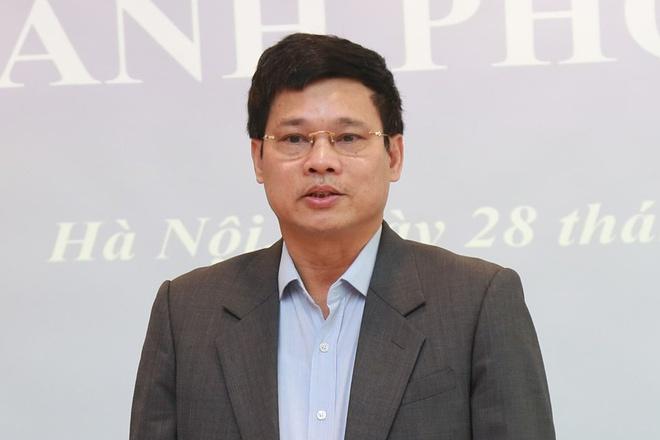Phó chủ tịch UBND Hà Nội Ngô Văn Quý. Ảnh: HNP.