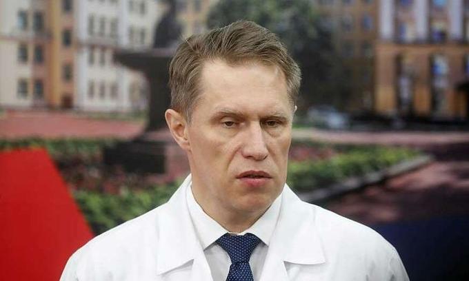 Bộ trưởng Y tế Nga Mikhail Murashko.