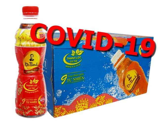Thông tin trà Dr.Thanh có thể chữa được Covid-19 là do doanh nghiệp quảng bá lập lờ!