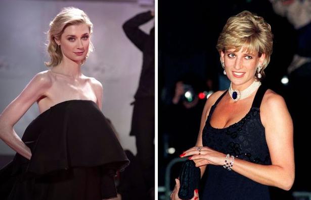 Elizabeth Debicki sẽ hóa thân thành Công nương Diana trong hai mùa cuối của The Crown. Ảnh: Netflix.