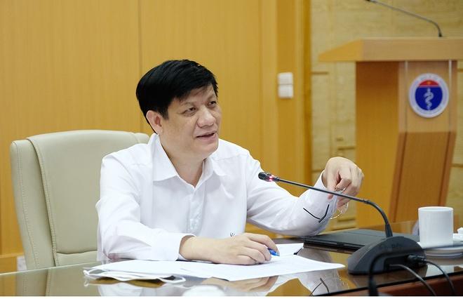 Quyền Bộ trưởng Y tế Nguyễn Thanh Long.