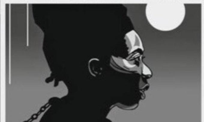 Bức vẽ được tạp chí Valeurs Actuelles đăng với hình ảnh nghị sĩ da màu Danielle Obono bị đeo xích sắt trên cổ. Ảnh: Twitter/Députée Obono.