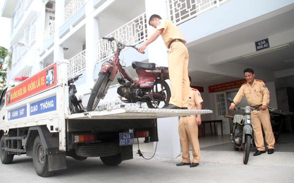 Hỗ trợ đổi xe máy cũ để bảo vệ môi trường