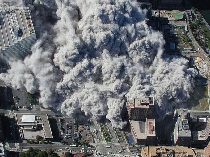Hình ảnh từ trên cao được hãng ABC News ghi lại.