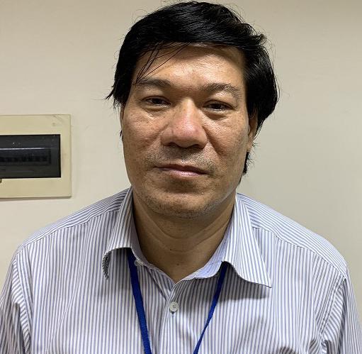 Bị can Nguyễn Nhật Cảm, giám đốc CDC Hà Nội.