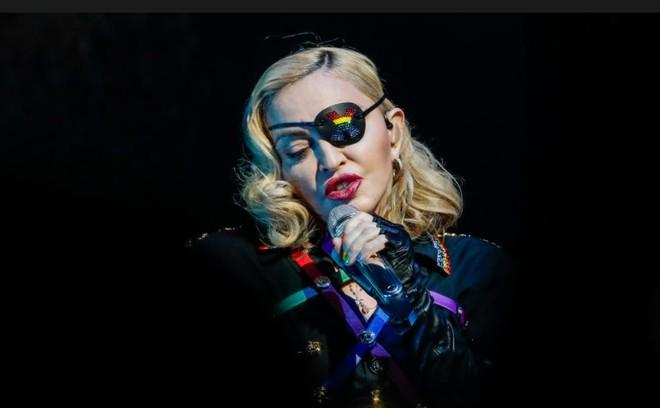 Danh ca Madonna.