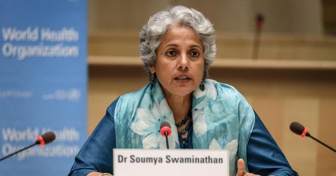 Khoa học gia trưởng của WHO Soumya Swaminathan. Ảnh: AP.
