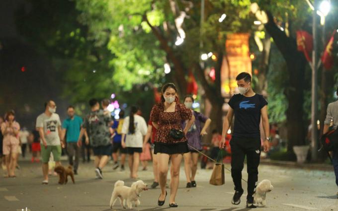 Từ ngày 18/9, không gian đi bộ Hoàn Kiếm hoạt động trở lại