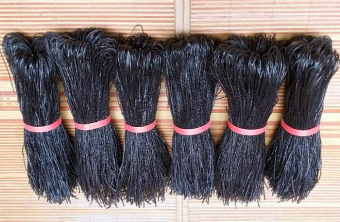 Miến đen Lào đắt gấp 3 - 4 lần miến thường vẫn được nhiều người ưa chuộng