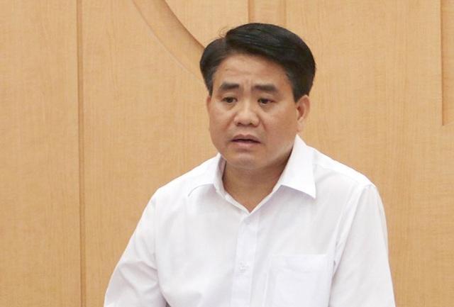 Cựu Chủ tịch UBND TP. Hà Nội Nguyễn Đức Chung