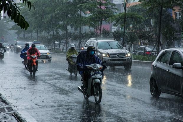 Từ đêm 22/9, Bắc Bộ có mưa vừa, mưa to, có nơi mưa rất to. (Ảnh: Minh Sơn/Vietnam+)