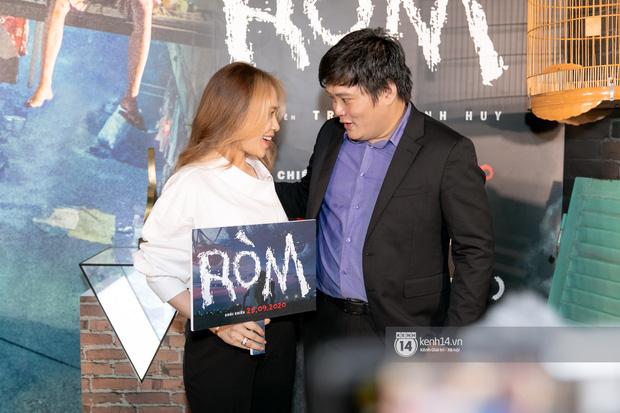 Chị đẹp cực kì thân thiết với đạo diễn Ròm - Trần Thanh Huy