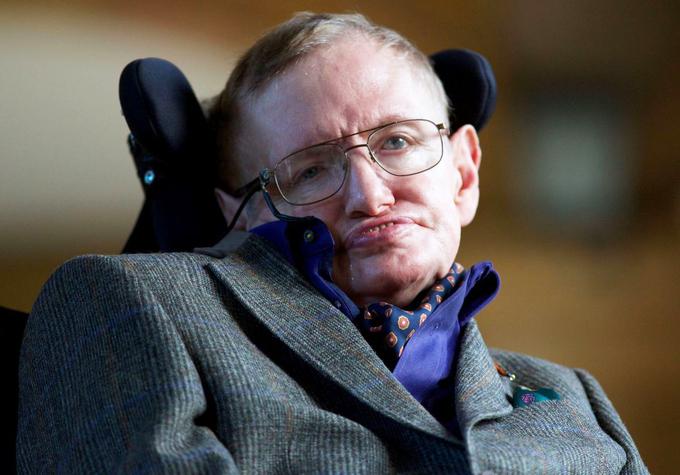 Nhà vật lý, toán học Stephen Hawking.