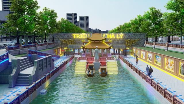 Đề xuất cải tạo sông Tô Lịch thành công viên: