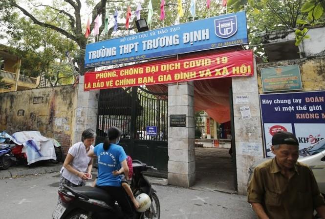 Trường THPT Trương Định (Hà Nội).
