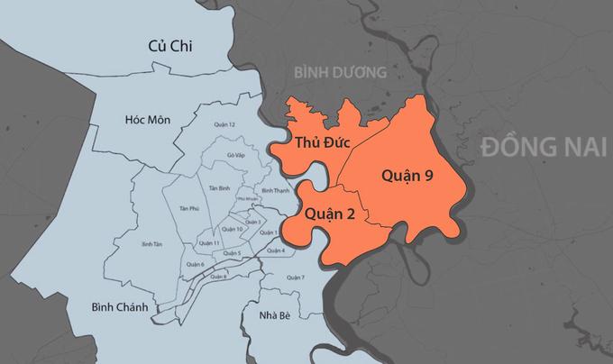 Nhiều cử tri quận 2 phản đối tên TP Thủ Đức