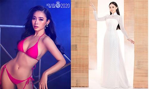 Nguyễn Huỳnh Diệu Linh, SBD: 408, Chiều cao: 1m67, Số đo: 82 - 62 – 90