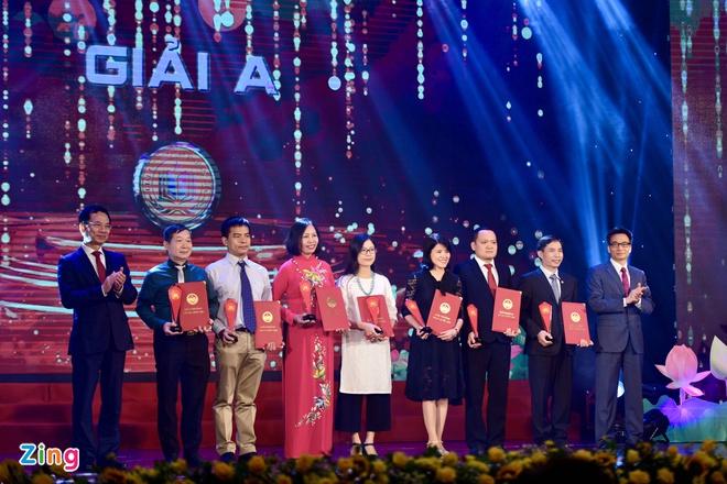 Ba tác phẩm đoạt giải A Giải thưởng Sách Quốc gia 2020