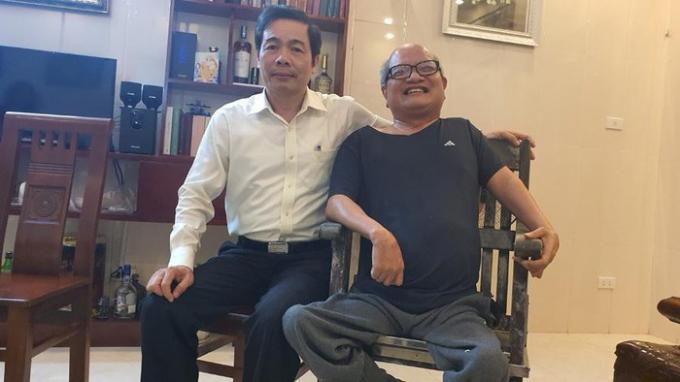GS.TS Hoàng Năng Trọng, nhà thơ Đỗ Trọng Khơi.