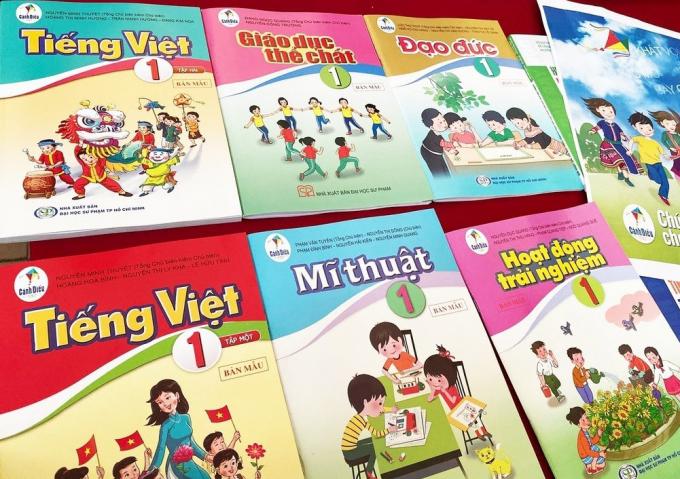 Sách Tiếng Việt 1, bộ Cánh diều