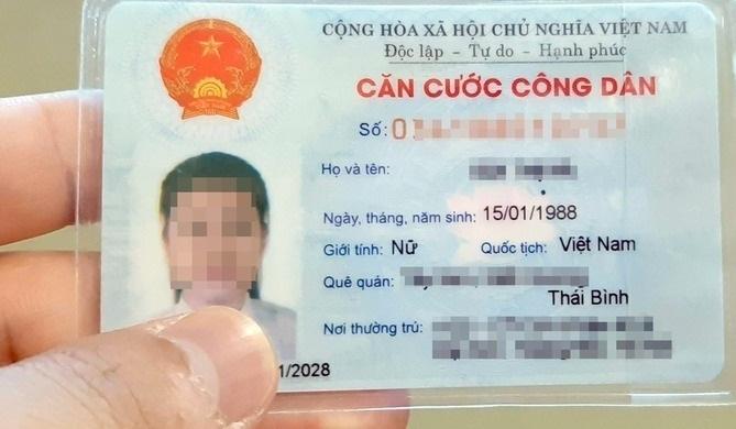 Bộ Công an lấy ý kiến về mẫu thẻ căn cước mới có tiếng Việt và tiếng Anh