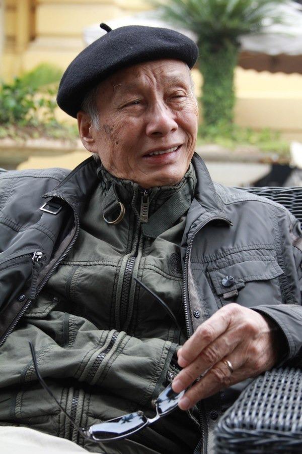 Ở tuổi hơn 90 ông vẫn không ngừng sáng tác.
