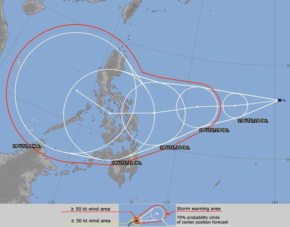 Ảnh: Mô hình dự báo của Nhật Bản